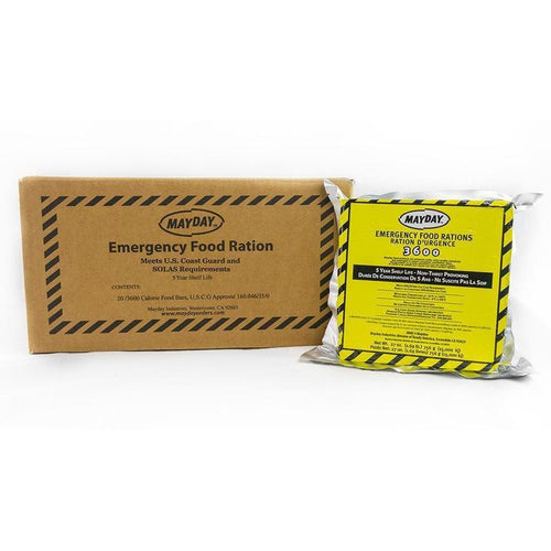 Mayday Emergency Food Bar 3600 Cal (20/case)-Emergency Kit Refill-Mayday-MASKLaLa