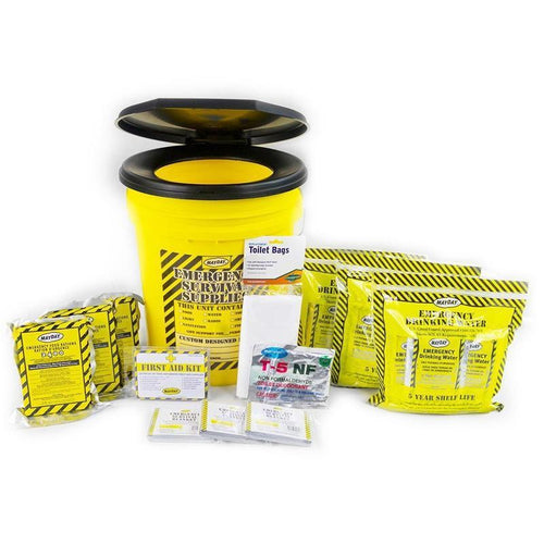 Toilet Bucket Emergency Kit - Economy (3 Person)-Emergency Kit-Mayday-MASKLaLa