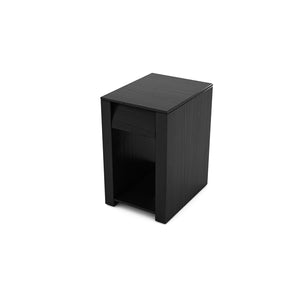 BEDSIDE TABLE (EBONY) - BS01