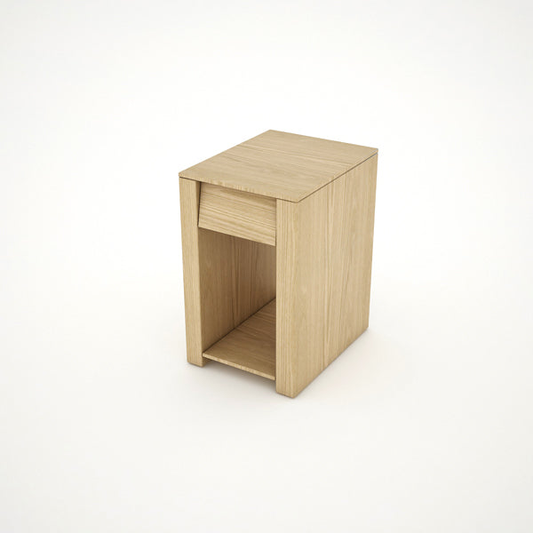 BEDSIDE TABLE (OAK) - BS01