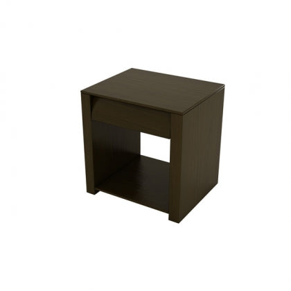 BEDSIDE TABLE (CHOCOLATE) - BS02