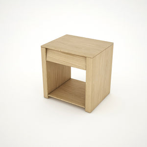 BEDSIDE TABLE (OAK) - BS02