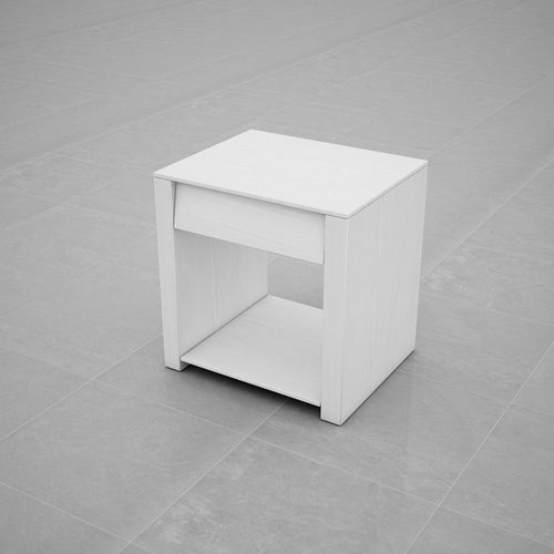 BEDSIDE TABLE (WHITE) - BS02