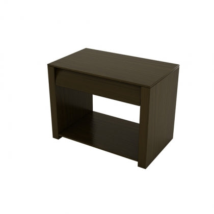 BEDSIDE TABLE (CHOCOLATE) - BS03