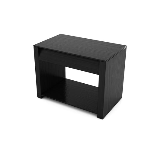 BEDSIDE TABLE (EBONY) - BS03
