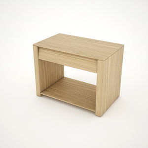 BEDSIDE TABLE (OAK) - BS03