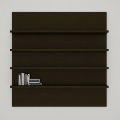 WALL SHELF UNIT (CHOCOLATE) - SH02