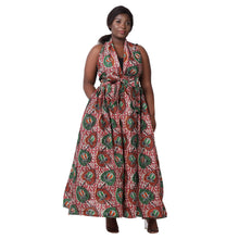 Load image into Gallery viewer, Long Length Maxi Print Skirt (Head Wrap Included) - Advance Apparels Inc