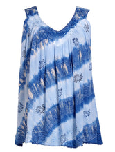 Load image into Gallery viewer, Native Print Tie Dye Tanktop 18714
