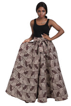 Load image into Gallery viewer, Long African Print Maxi Skirt Elastic Waist - Advance Apparels Inc