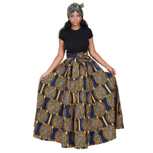 Load image into Gallery viewer, Long African Print Maxi Skirt 19417 - Advance Apparels Inc