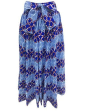 Load image into Gallery viewer, Long African Print Maxi Skirt Elastic Waist Ankara Fashion - Advance Apparels Inc