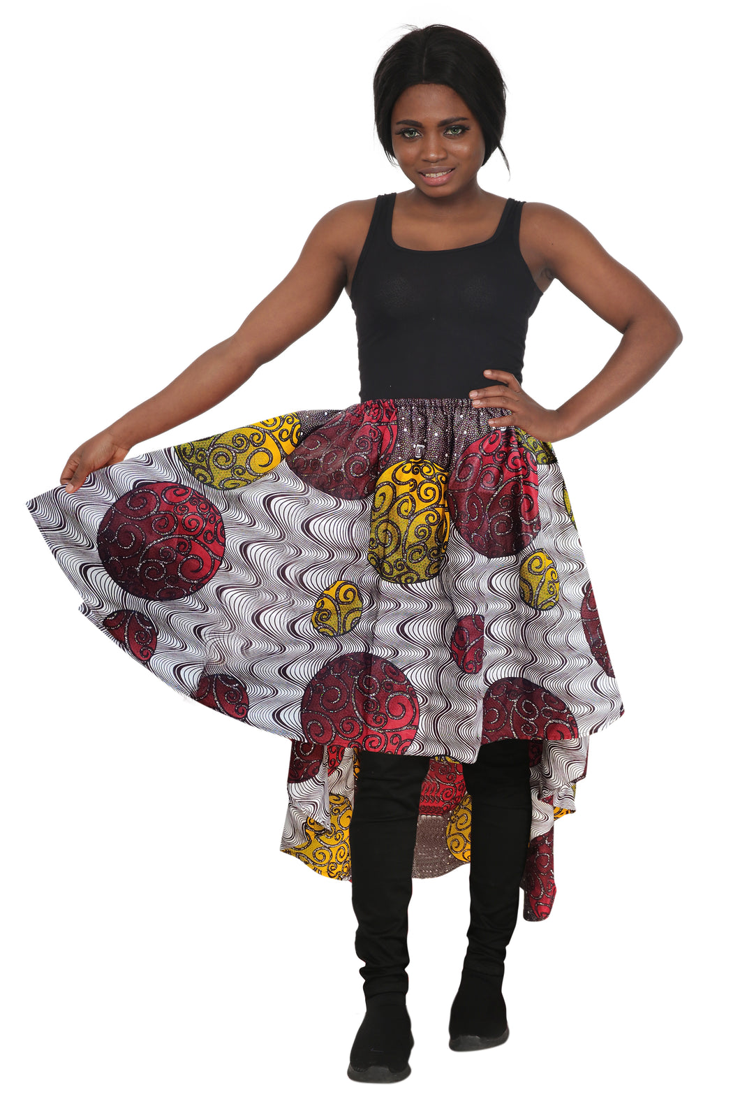 Ankara Blouse/Skirt 2273-86