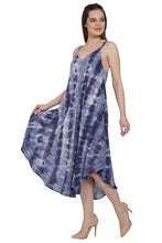 Load image into Gallery viewer, Key West Tie Dye Beach Umbrella Dress UD48-2362