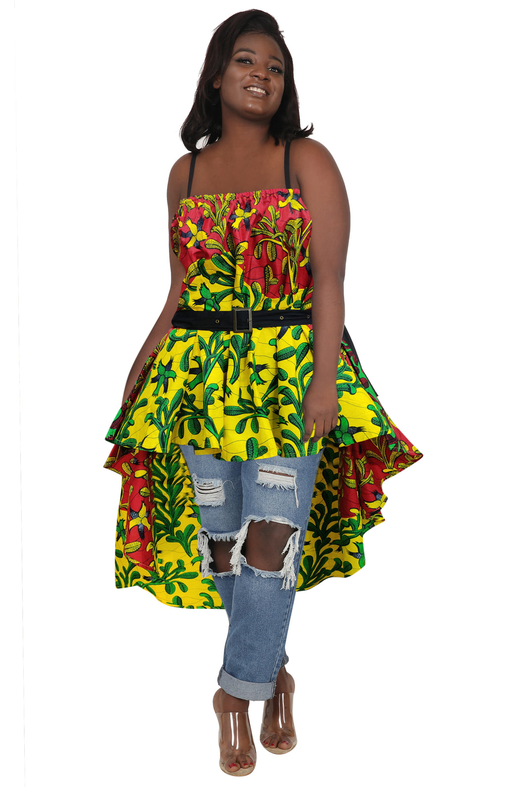 Ankara Blouse/Skirt 2273-85