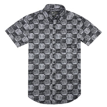 Load image into Gallery viewer, Modern Check Print Short Sleeve Shirt