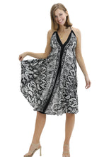 Load image into Gallery viewer, Digital Print Scarf Dress R801