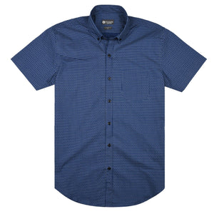 Tile Pattern Short Sleeve Shirt - Advance Apparels Inc