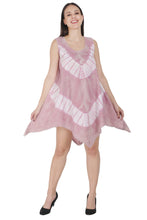 Load image into Gallery viewer, Organic Tie Dye Tencel Umbrella Dress