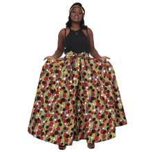 Load image into Gallery viewer, Pop Polka Dot Ankara Print Palazzo Pants Elastic Waist 061-603 - Advance Apparels Inc