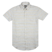 Load image into Gallery viewer, Horizontal Striped Linen Shirt