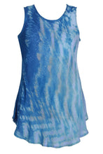 Load image into Gallery viewer, Tie Dye Scooped Neck Tank Top 18806