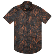 Load image into Gallery viewer, Mosaic Print Short Sleeve Shirt