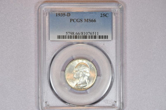 1935-D Washington Quarter PCGS MS66 5798.66.81076511