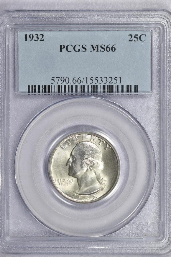1932 Washington Quarter PCGS MS66 5790.66.15533251