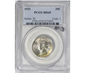 1932 Washington Quarter PCGS MS65 5790.65.21271876
