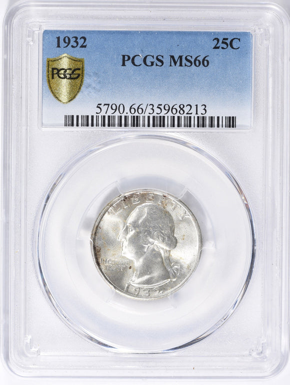1932 Washington Quarter PCGS MS66 5790.66.35968213