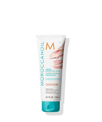 Masques Couleur Pigmentant Moroccanoil : Or rose 200ml