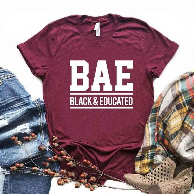 BAE Black And Educated Women's T-shirt