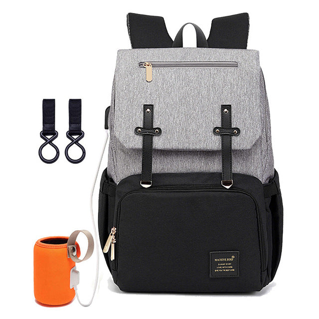 USB Baby Bag with Laptop Pocket - Giftbuzz.com