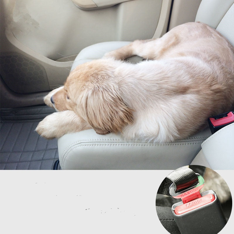 Dog & Cat Adjustable Car Seat Harness - Giftbuzz.com