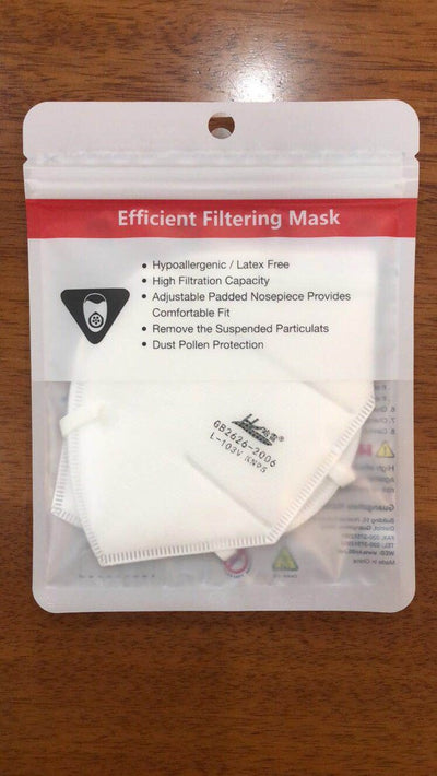 Pack of 2 KN95 Masks - Health Canada, CDC & FDA Approved (IN STOCK).