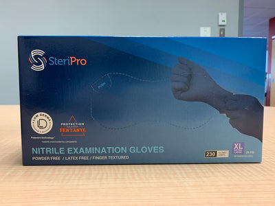 Chemo Medical Grade Nitrile Gloves (250 Gloves in S,M,L or 230 Gloves XL)  - (Sizes Vary).