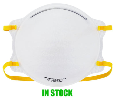 OMA MEMBERS ONLY  - N95  NIOSH / CDC / FDA / Health Canada Approved Mask Box of 20 Makrite - 9500 (IN STOCK).