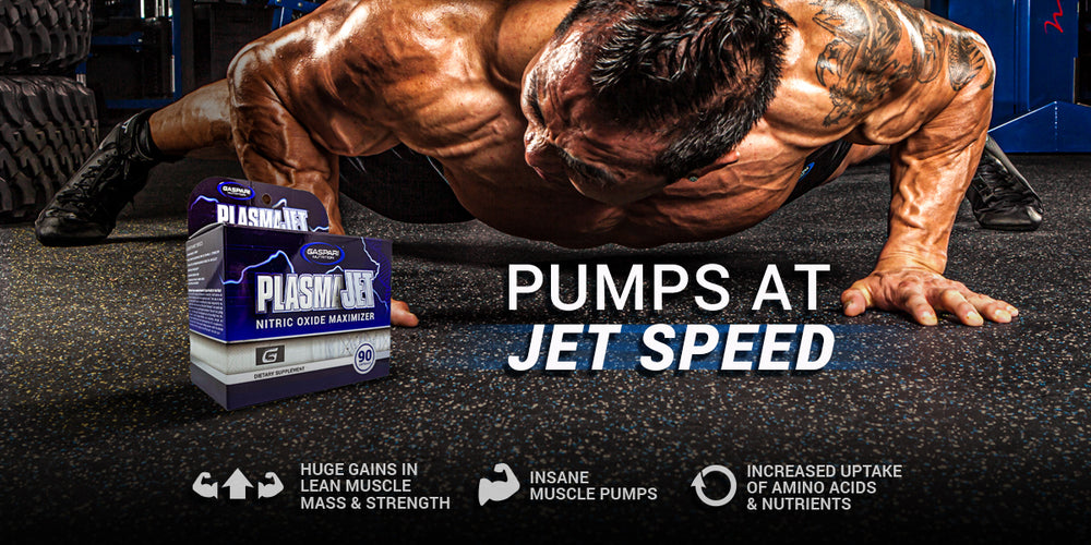 Gaspari Nutrition Re-releases Its Famed Pump Product, Plasma Jet