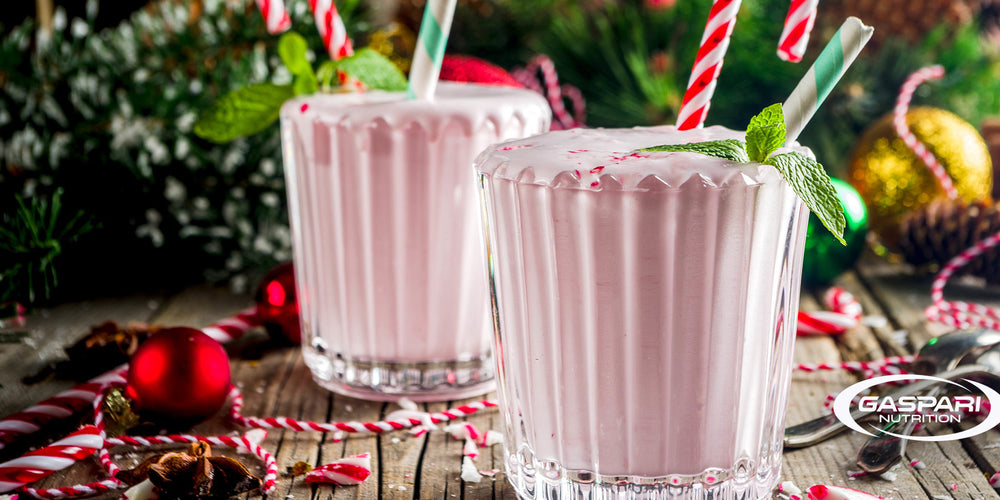 Candy Cane Protein Shake