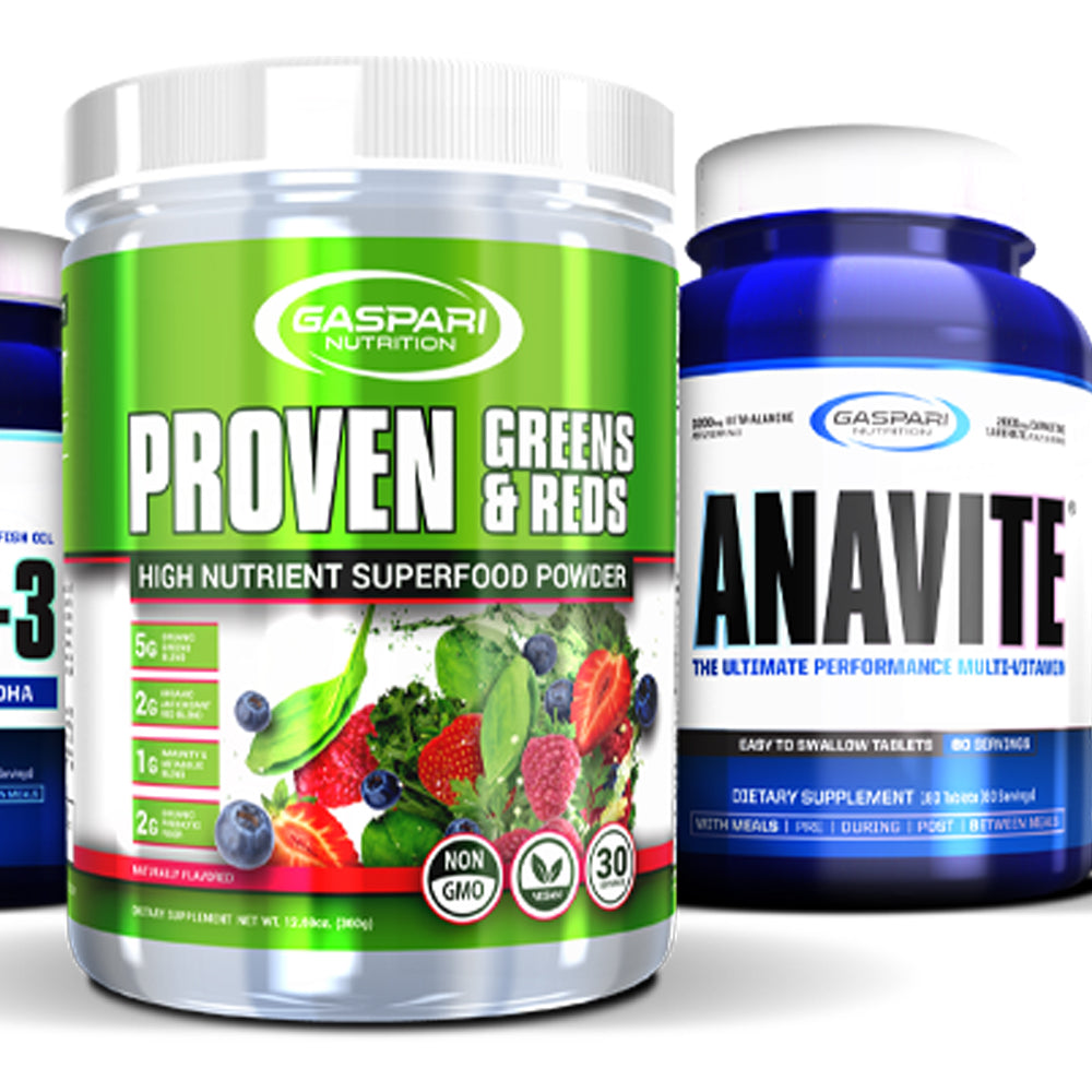 Leveling Up Our Health Supplements!