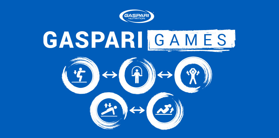 The Gaspari Games - The At-Home Training Competition