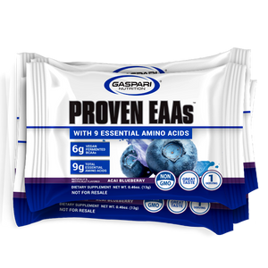 Proven EAAs: (Guava Nectarine and Blueberry Acai) Samples