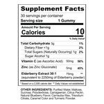 Elderberry Immunity Gummies - Gaspari Nutrition