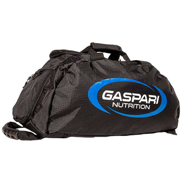 Premium Gaspari Duffle Bag + FREE Samples Bundle
