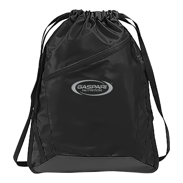 Gaspari - Black Drawstring Bag