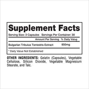 TRIBULUS 90 CT - Gaspari Nutrition