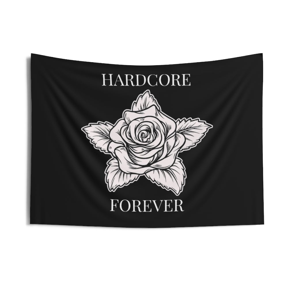 Hardcore Rose Tapestry