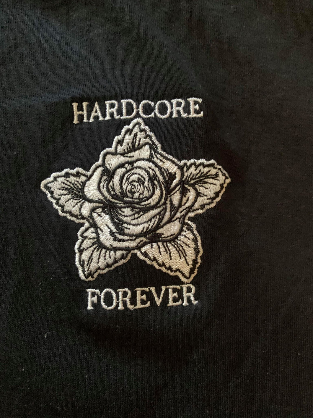 LIMITED Hardcore Flower T shirt