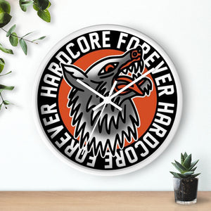 Hardcore Wolf Wall clock